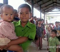 미얀마. 사 천성 참변 구호품 전달 특별 판매